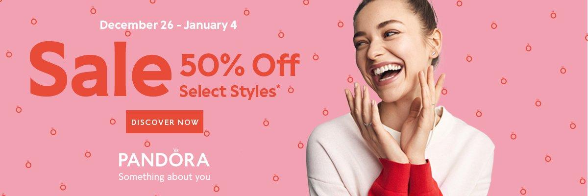Pandora End of the Season Sale