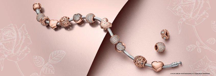 charmes pandora rose