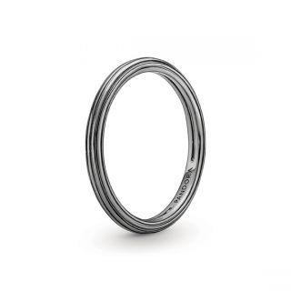 Ruthenium-Plated Ring - Pandora ME