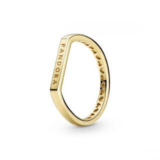Logo Bar Stacking Ring - Pandora Shine