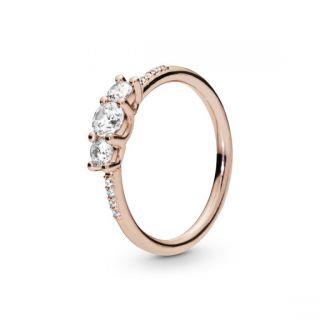 Sparkling Elegance Ring - PANDORA ROSE