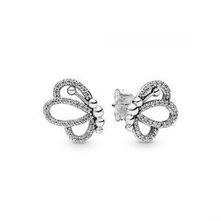 Butterfly Outlines Stud Earrings