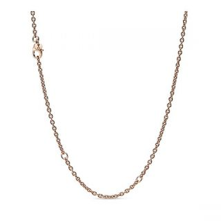 Cable Chain Necklace - Pandora Rose