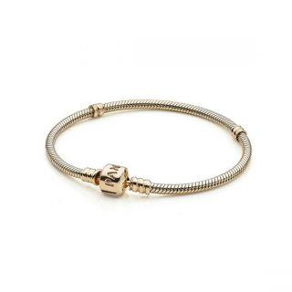 PANDORA Gold CHARM Bracelet