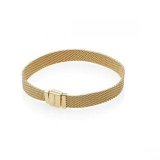 PANDORA Reflexions™ Flat Mesh Bracelet - PANDORA Shine