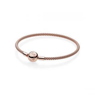 PANDORA Rose Mesh Bracelet