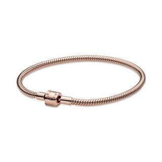 Barrel Clasp Bracelet - Pandora Rose