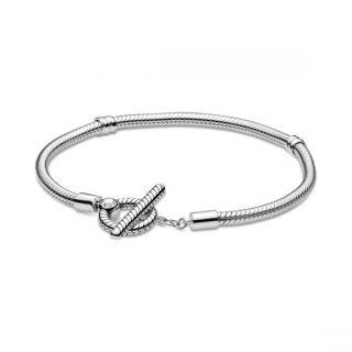 T-Bar Snake Chain Bracelet