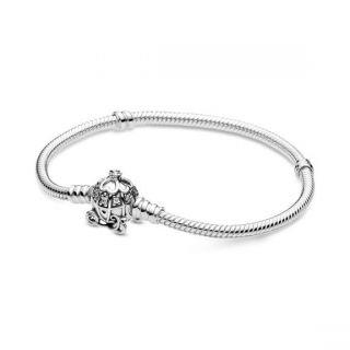 Disney, Cinderella Pumpkin Coach Clasp Bracelet