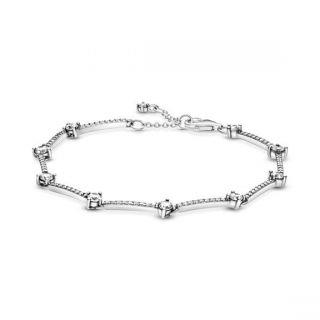 Sparkling Pave Bars Bracelet