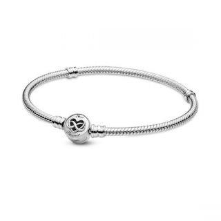 Heart Infinity Clasp Bracelet