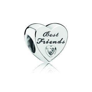 Friendship Heart Charm