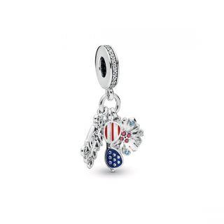American Icons Dangle Charm