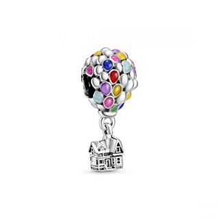 Disney, Up House & Balloons Charm