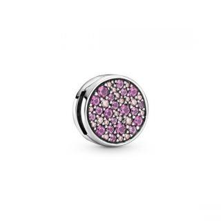 Pandora Reflexions™ Pink Pave Clip