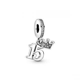 15th Birthday Dangle Charm