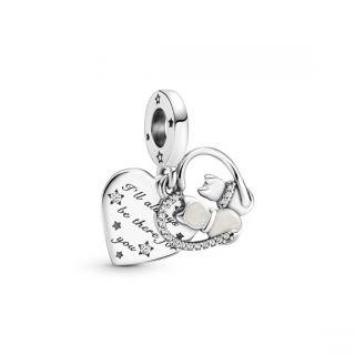 Cats & Hearts Dangle Charm