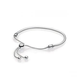 Moments Silver Sliding Bracelet