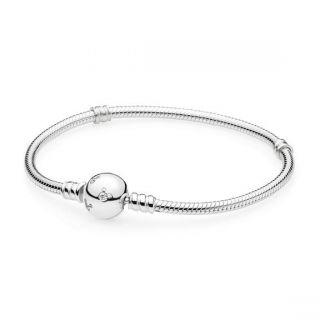Disney, Sterling Silver Mickey Bracelet