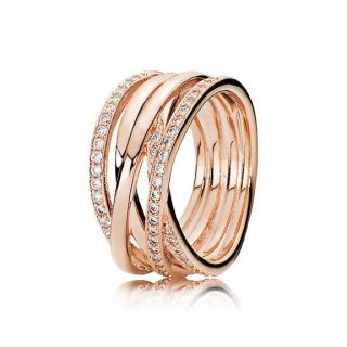 Entwined Ring - Rose
