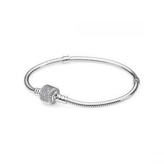 Moments Pave Clasp Bracelet