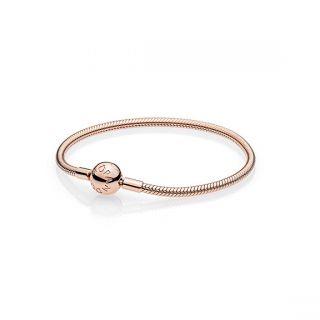 Smooth PANDORA Rose™ Clasp Bracelet