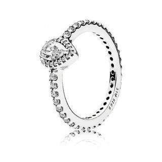 Radiant Teardrop Ring - Small