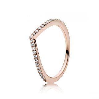Shimmering Wish Ring - PANDORA Rose™