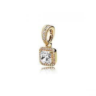 Timeless Elegance Pendant - 14K Gold