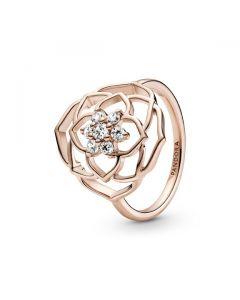 Rose Petals Statement Ring - Pandora Rose