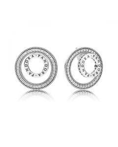 Forever PANDORA Signature Earrings