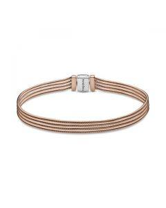 Pandora Reflexions™ Multi Snake Chain Bracelet - Pandora Rose