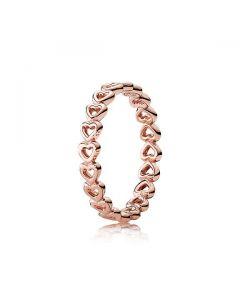Linked Love Ring - PANDORA ROSE