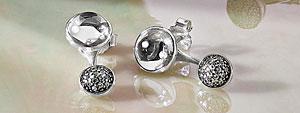 PANDORA Drop Dangle Earrings