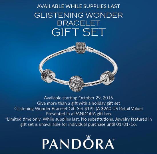 Pandora Holiday Promotions for 2015 | PANDORA® Mall of America
