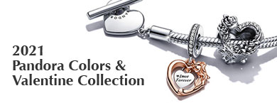 PANDORA Colors & Valentine Collection
